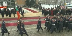 войска церемония Радев