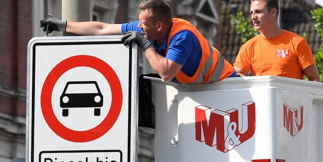 Германски съд позволи забрани по улиците на по- стари дизелови коли