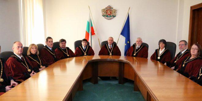"""Конституционният съд отмени """"закритите"""" заседания във ВАС, но не и драстичните такси (допълнена)"""