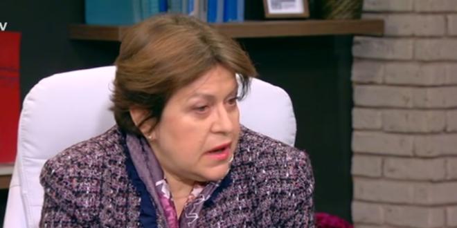 """Татяна Дончева: Фигурата на надзорник на главния прокурор, е """"апотеоз на панирания мозък""""."""