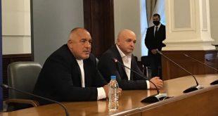 Борисов:  12 000 са били  пред президентството, колкото повече, толкова по-високи наказания да се наложат заради вируса