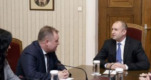Президентът Румен Радев и председателят на ВАС Георги Чолаков разговаряха за промени в Конституцията