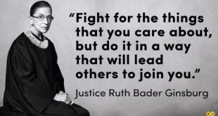 Почина Рут Бейдър Гинсбърг – върховен  съдия на САЩ и забележителен юрист  (нейна лекция)