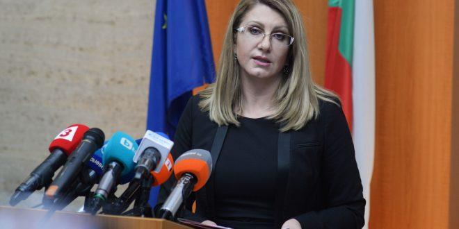 Предлагат откриване на ново съдийско място в АССО за министъра в оставка Ахладова