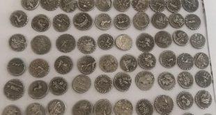 Петима обвинени след акция срещу иманяри в Пловдивско и София, иззети 1500 старинни монети