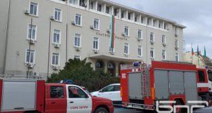 Сигнал за бомба затвори и Съдебната палата в Стара Загора