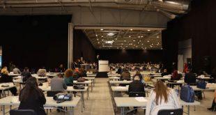 356 кандидати се явиха на писмен изпит за 7 младши съдии