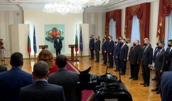 Служебният премиер Стефан Янев: Страната ще бъде управлявана според върховенството на закона