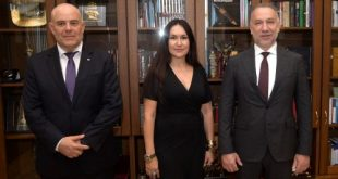 Иван Гешев е провел работна среща с Богдан  Лику, първи зам.-главен прокурор на Румъния