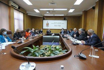 Гешев и Рашков поотделно се срещнаха с Мониторинговата група на ЕП за върховенството на закона  у нас