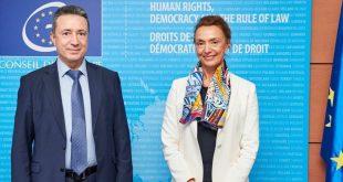 Министърът  Янаки Стоилов се срещна с генералния секретар на СЕ на Европа Мария Пейчинович-Бурич